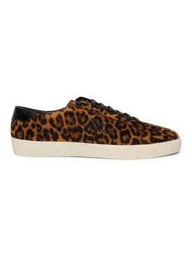Leopard Print Signa Low-Top Sneaker