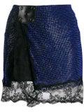 Christopher Kane - Crystal Mesh Mini Skirt - Women