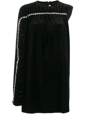 Christopher Kane - Crystal Sleeve Velvet Dress - Women