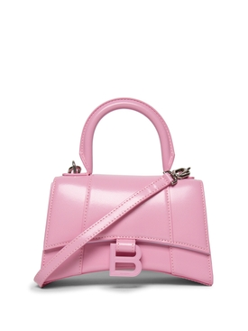 XS Hourglass Top Handle Bag Candy Pink