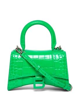 Small Hourglass Bag VIVID GREEN