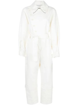 Stella Mccartney - White Aviator-style Jumpsuit - Women