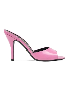 slip on sandal heels PINK