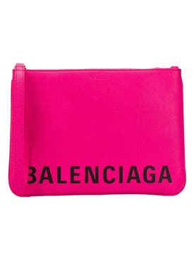 Balenciaga - Cash Handle Pouch Acid Fuchsia - Women