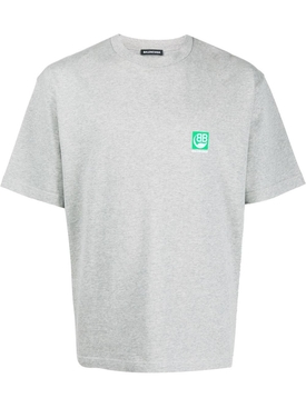 BB eco logo t-shirt HEATHER GREY