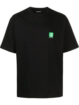 Balenciaga - Bb Eco Logo T-shirt Black - Men