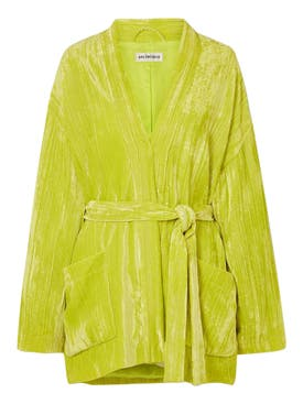 Balenciaga - Citrus Yellow Pajama Jacket - Women