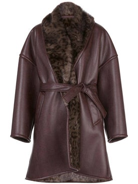 Balenciaga - Brown Cocoon Coat - Women