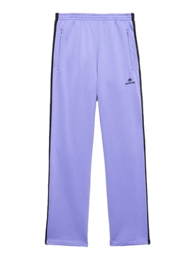 Balenciaga - Lilac And Black Track Pants - Women