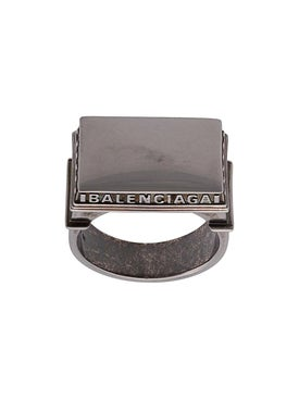 Balenciaga - Paris Arch Logo Ring - Men