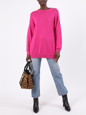Pink Over-size Cashmere Sweater