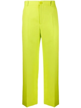 Yellow tailored pants
