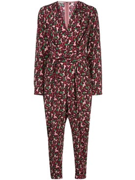 Stella Mccartney - All In One Blossom Print Jumpsuit Multicolor Berry - Women