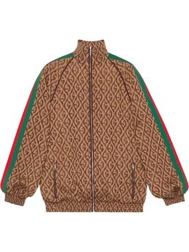 GG print bomber jacket