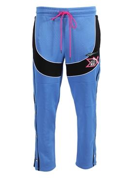 x Rhude Blue and Black Stripe Jogger Pants