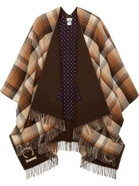 Gucci - Gg Fringed Poncho - Sweaters & Knitwear