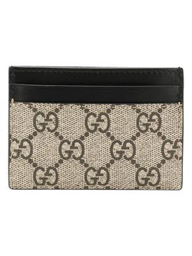 Gucci - Gg Supreme Bee Card Case - Men