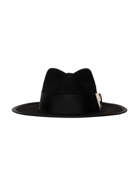 Chrome Luna Felt Hat
