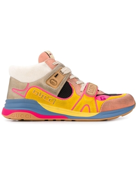 Multicolored Ultra Pace Mid-Top Sneakers