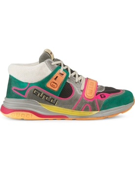 Gucci - Green Multicolored Ultra Pace Sneakers - Men