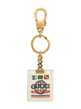 Gucci Worldwide Logo Keychain