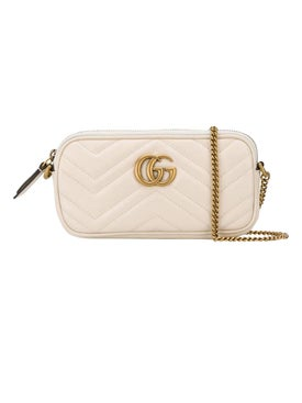 Gucci - Gg Marmont Cross-body Bag Mystic White - Women