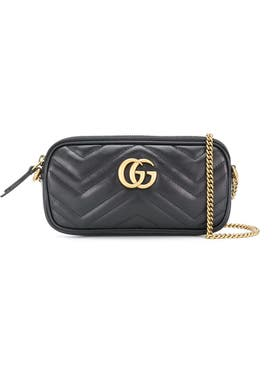 Gucci - Gg Marmont Cross-body Bag Black - Women