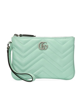 Water green GG Marmont mini bag