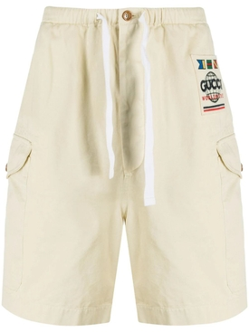 Worldwide Logo Cargo Shorts BEIGE