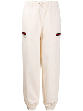 Ivory track pants