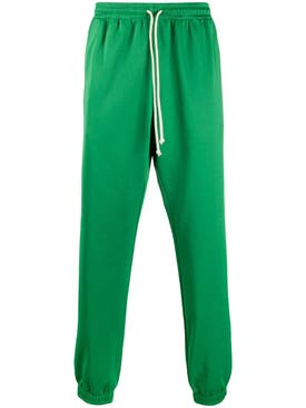 Gucci - Logo Tape Jogger Pants Clover Green - Men
