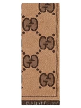 GG Supreme jacquard scarf