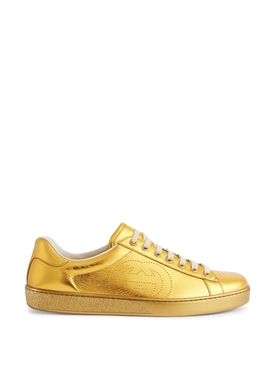 Gold Metallic Ace Sneaker