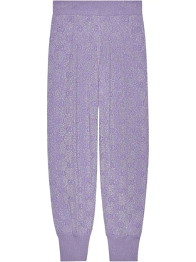 Lilac GG Sparkling Jogger Pants