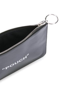Off-white - Quote Flat Pouch Black - Women