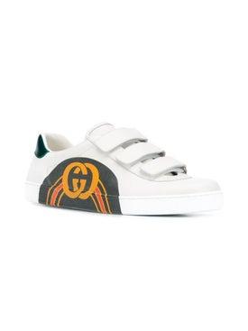 Gucci - Logo Rainbow Sneakers - Men