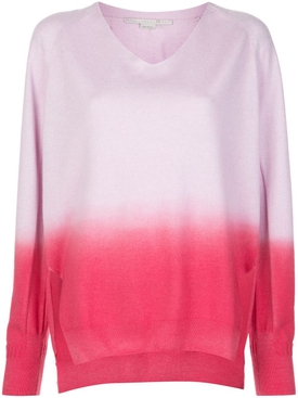 Stella Mccartney - Pink And Purple Cashmere Sweater - Women