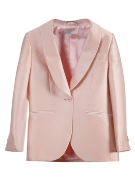 Kids Rose Pink Tailored Suit Set
