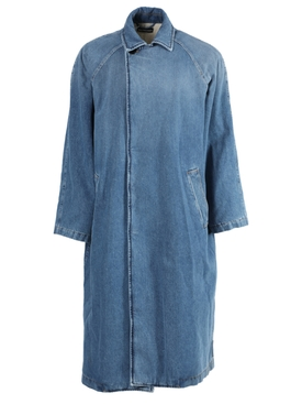 Blue Denim Car Coat