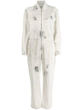 Stella Mccartney - Bleached Denim Jumpsuit - Women