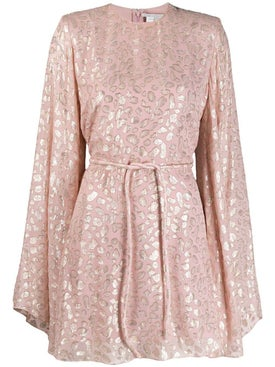 Stella Mccartney - Light Pink Animal Print Dress - Women
