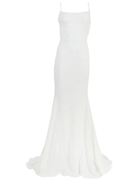 White Abito Evening Dress