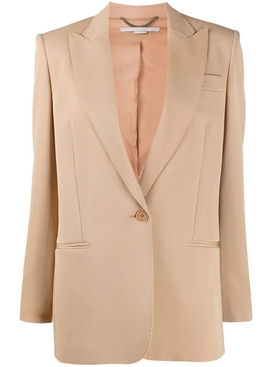 Stella Mccartney - Beige One-button Blazer - Women