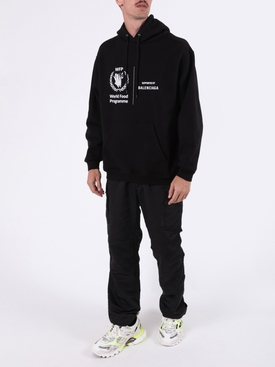World Food Programme logo hoodie BLACK