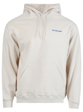 Medium Fit Hoodie chalk white