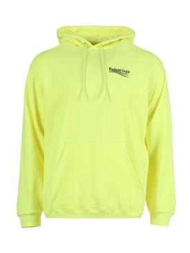 Fluorescent Yellow Hoodie