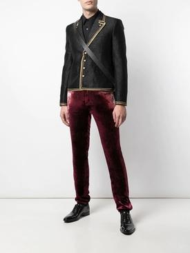 Burgundy Skinny Pants