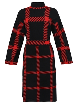 Lumberjack check-print dress