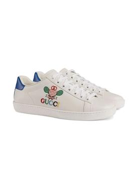 Tennis Logo Ace Sneaker