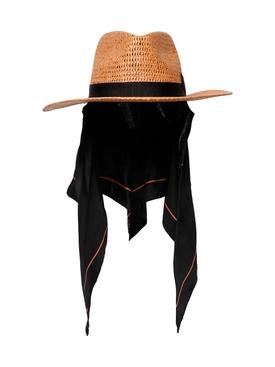 Mystic Straw Hat With Bandana